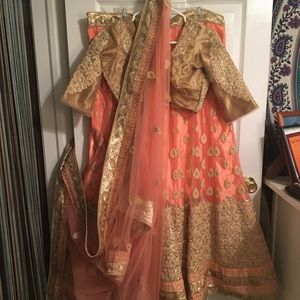 Other - Bollywood lengha Indian dress